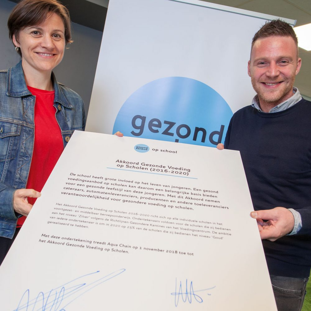 Utrecht, 1 november 2018 Najaarsbijeenkomst Jogg van de Akkoord partijen van het Akkoord Gezonde Voeding Op Scholen
